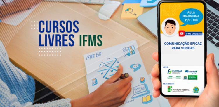 IFMS abre inscrições para cursos de capacitação online e gratuitos
