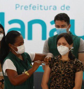 Manaus anuncia vacinação da COVID-19 para maiores de 27 anos