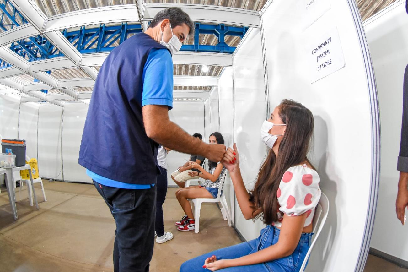 São Luís (MA) avança na vacinação com garantia da 1ª dose para adolescentes