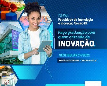 Faculdade SENAC-DF abre bolsas de estudos para curso superior