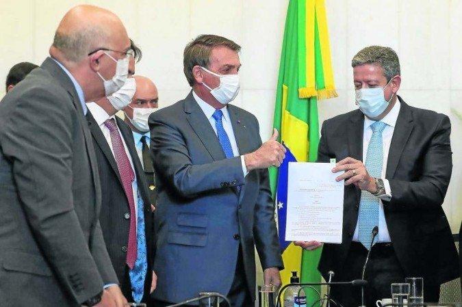 Auxílio Brasil promete vale gás, auxílio creche e bônus para melhores estudantes (Imagem: Reprodução / Correio Braziliense)