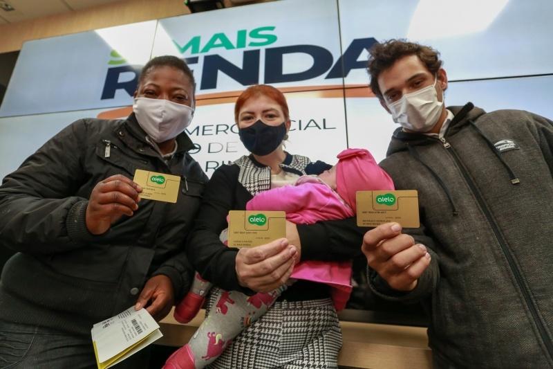 Programa SC Mais Renda inicia distribuição dos cartões em Florianópolis (Imagem: Reprodução/Rádio Lider)