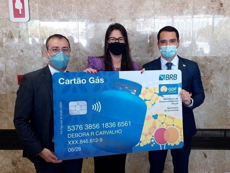 DF acredita em movimentação de R$ 24 milhões com início do Cartão Gás