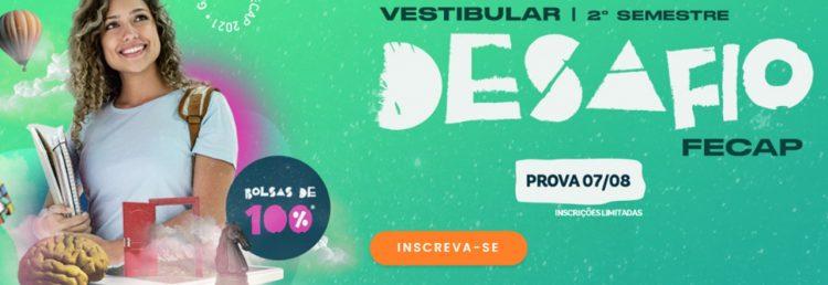 Vestibular da FECAP abre inscrições com garantia de bolsas de 100%