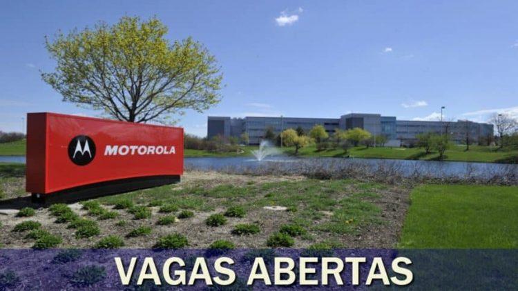 Vagas de emprego na Motorola são abertas em modalidade home office