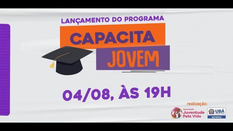 Programa Capacita Jovem tem 500 bolsas de estudos para alunos de Ubá (MG)