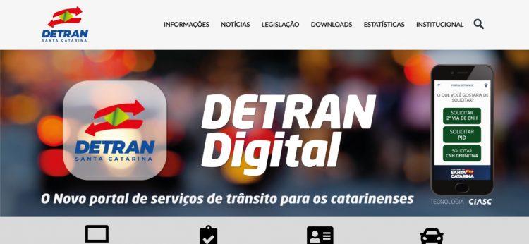 Canal do Detran-SC tem queda de conexão e cidadãos ficam sem acesso