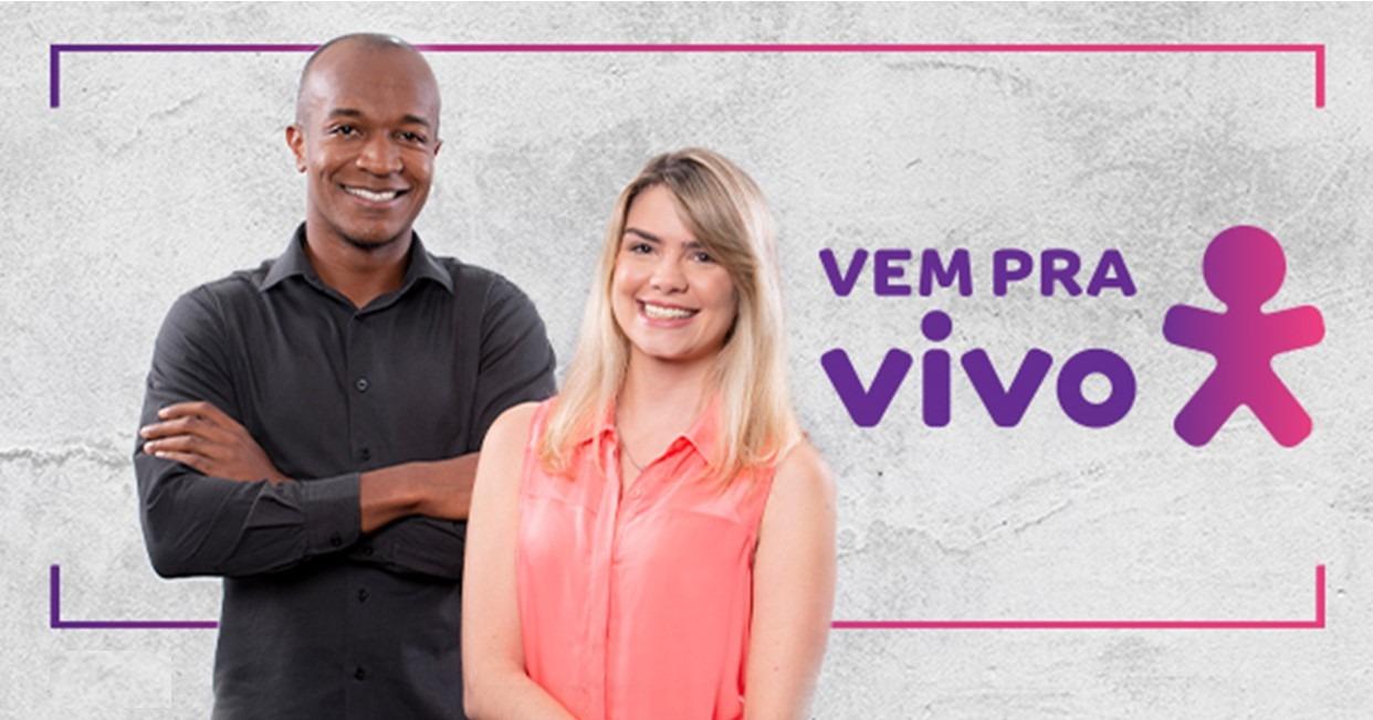 Inscrições abertas nas vagas de emprego na Vivo de São Paulo