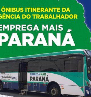 Governo do Paraná leva ônibus Emprega Mais com 2 mil vagas para o norte do estado