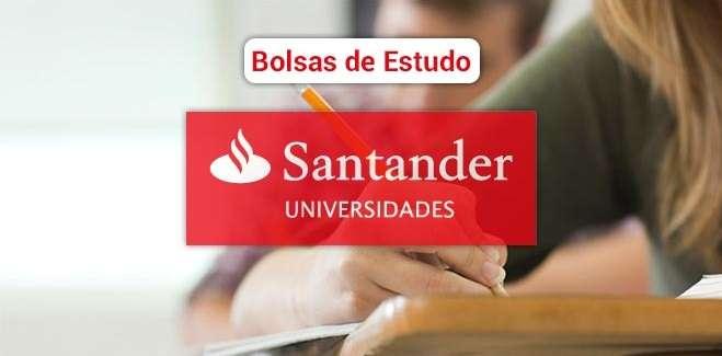 Santander abre inscrições em 1,5 mil bolsas de estudos em cursos CPA-20