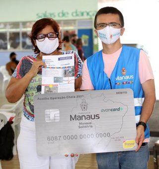 Manaus libera parcela de R$ 200 no Auxílio Operação Cheia 2021