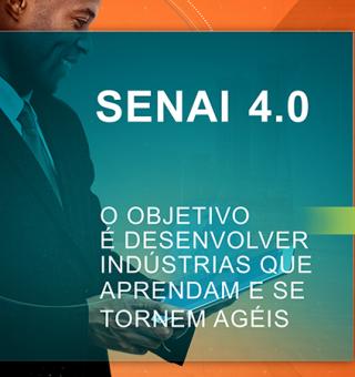 Programa SENAI 4.0 cria cursos de capacitação sobre indústria e tecnologia