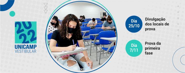 Publicada margem de concorrência no vestibular da Unicamp de 2022
