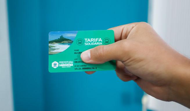 Saquarema libera cartão Tarifa Solidária com desconto de 50% nas passagens