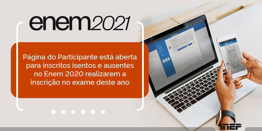 Novo prazo de inscrição no ENEM libera isenção automática até domingo (26)