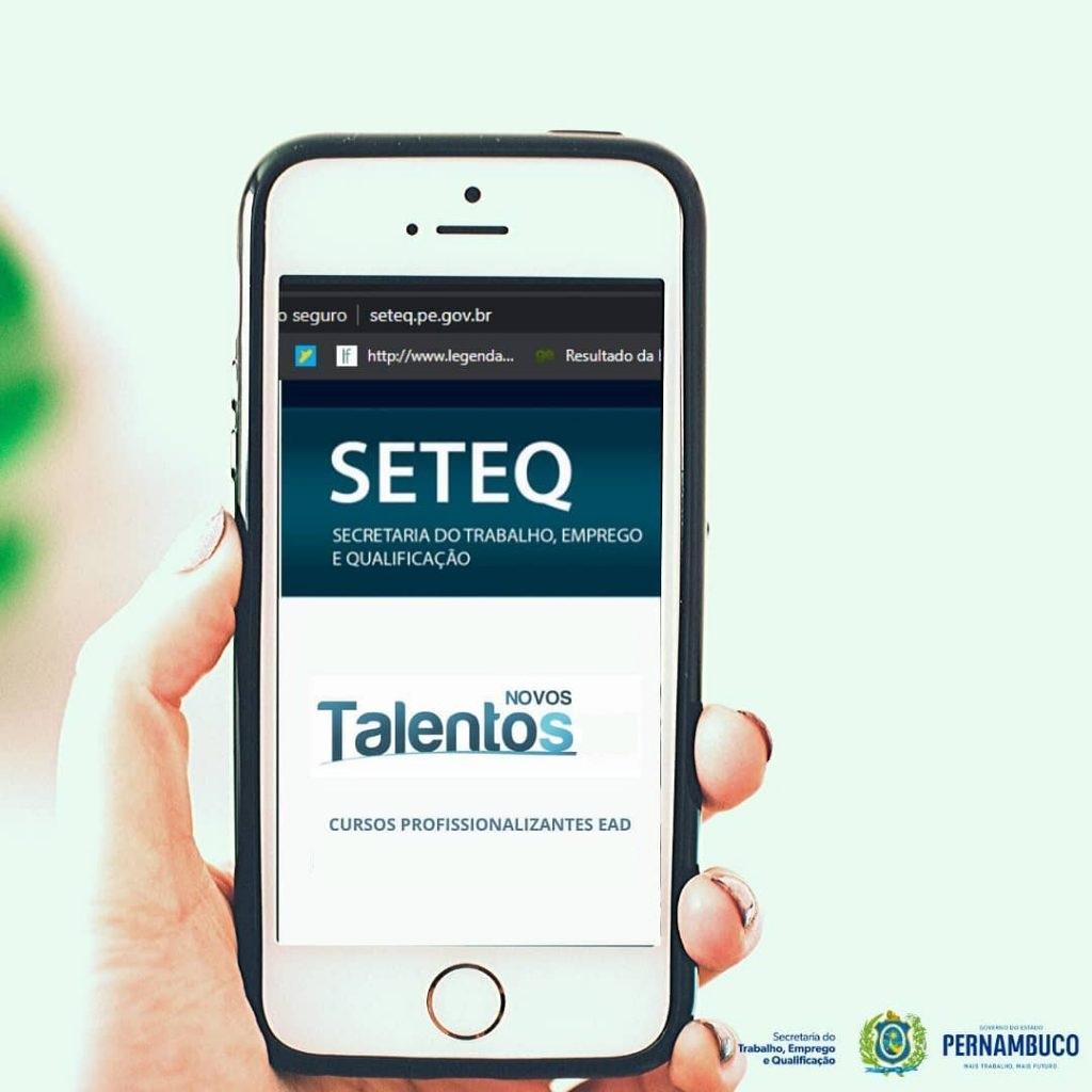 Governo de Pernambuco oferece cursos de capacitação gratuitos em 13 cidades