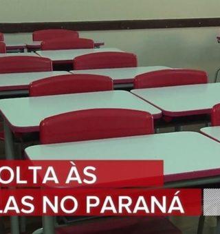 Paraná tem nova regulamentação que determina volta das aulas presenciais