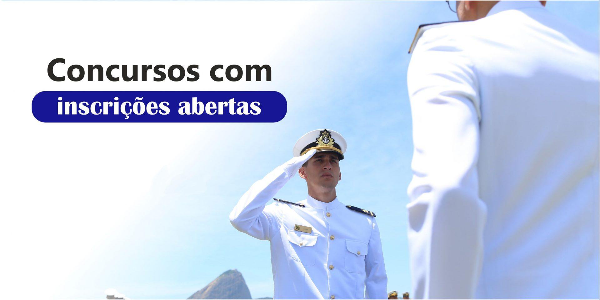 Concurso da Marinha prorroga inscrições com 40 vagas de emprego