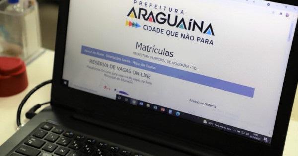 Araguaína (TO) cria site para consulta de vagas e matrícula escolar de 2022
