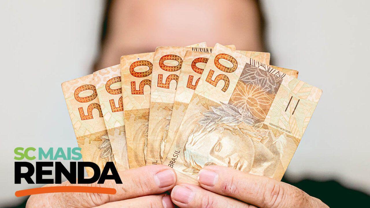 Feito depósito da última parcela do SC Mais Renda pagando R$ 300