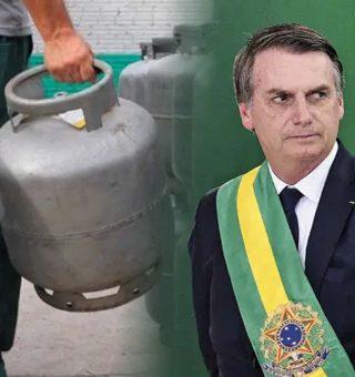 Bolsonaro anima eleitores sobre gás de cozinha 'Se Deus quiser, vai cair pela metade'