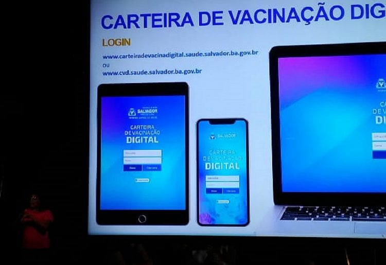 Prefeitura de Salvador anuncia criação da Carteira de Vacinação Digital (CVD)