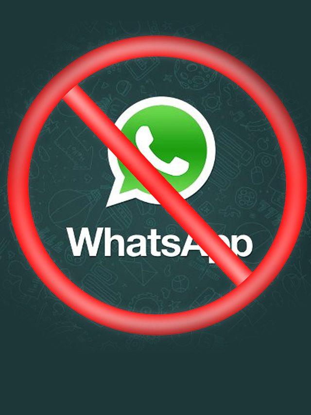 FIM DO WHATSAPP: Aparelhos ficarão sem o aplicativo a partir de novembro