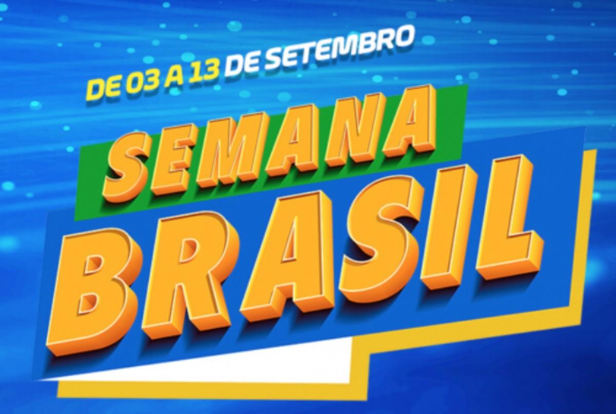 Semana Brasil com descontos em várias lojas promete promoções até segunda (13)