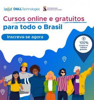 UECE e Dell fazem parceria para oferecer mil vagas em cursos on-line gratuitos