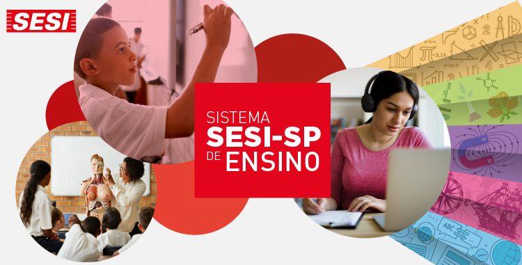 Inscrições para ensino regular no SESI-SP começam esse mês