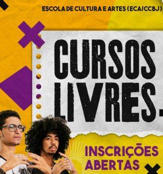 Cursos gratuitos de arte e cultura no Ceará encerram inscrições no domingo (10)